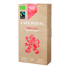 BIO Cafè Royal Fair Espresso Nespresso capsule compatibile