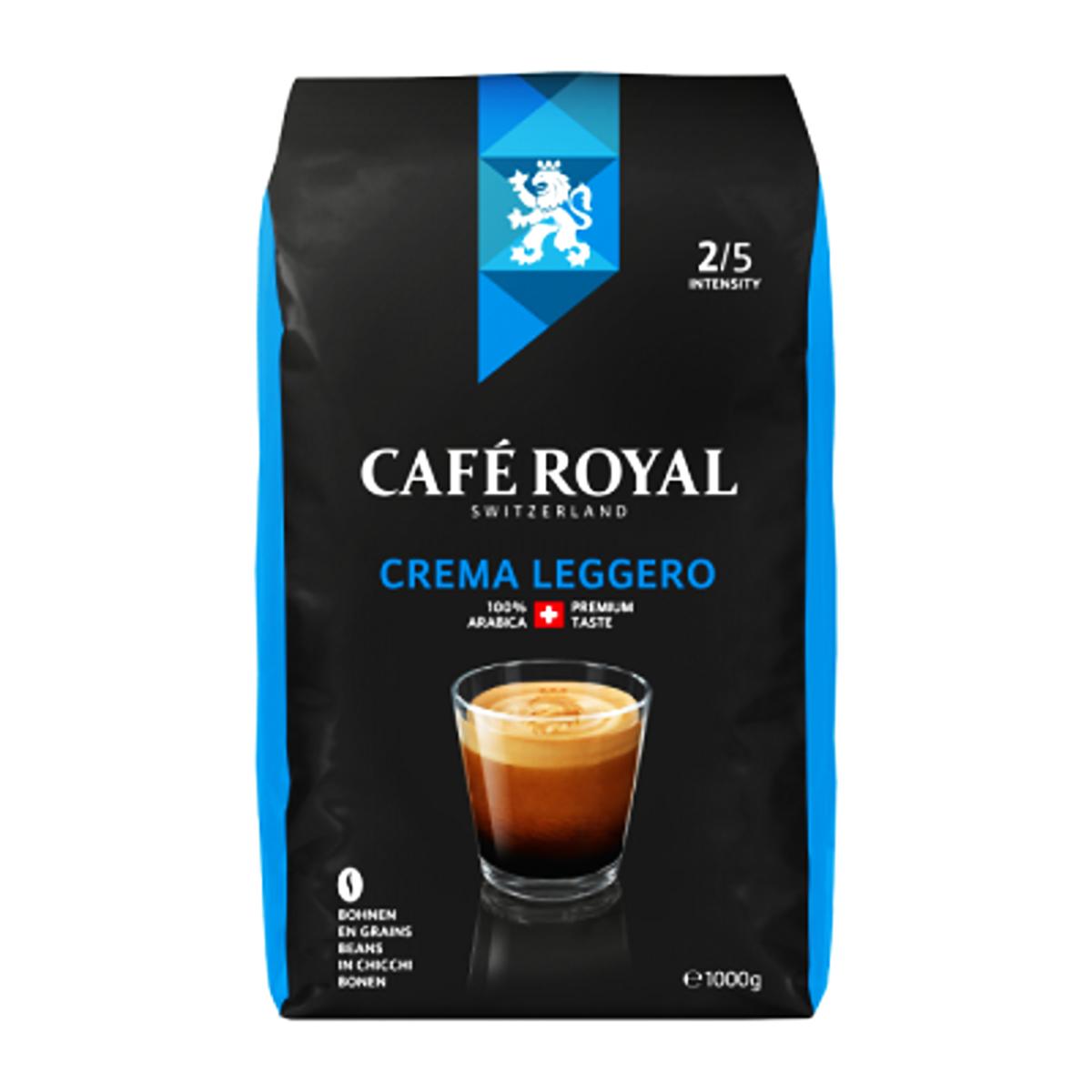 Cafe Royal Crema Leggero cafea la boabe1kg.