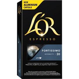 L'Or Fortissimo Nespresso capsule compatibile