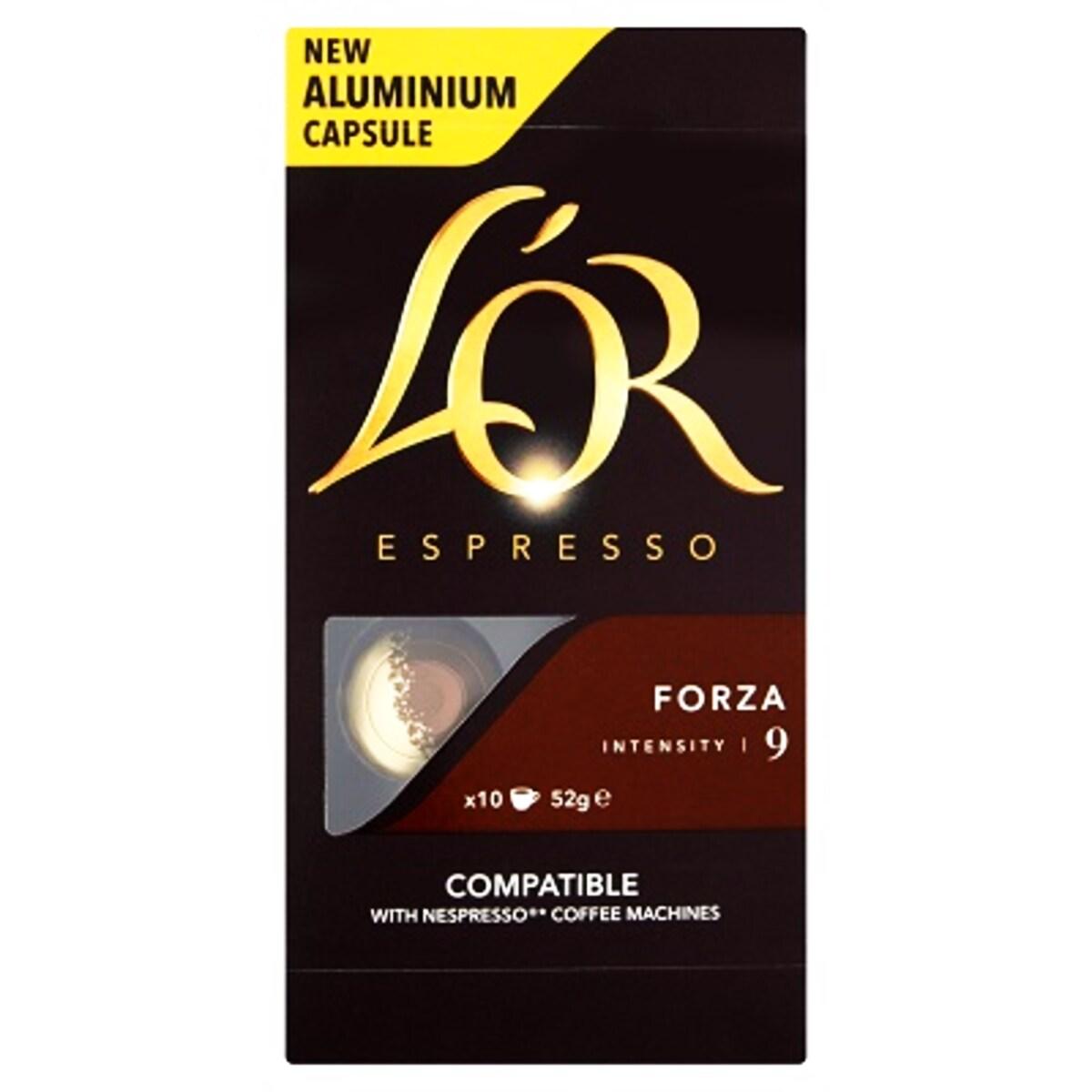 L'Or Forza Nespresso capsule compatibile
