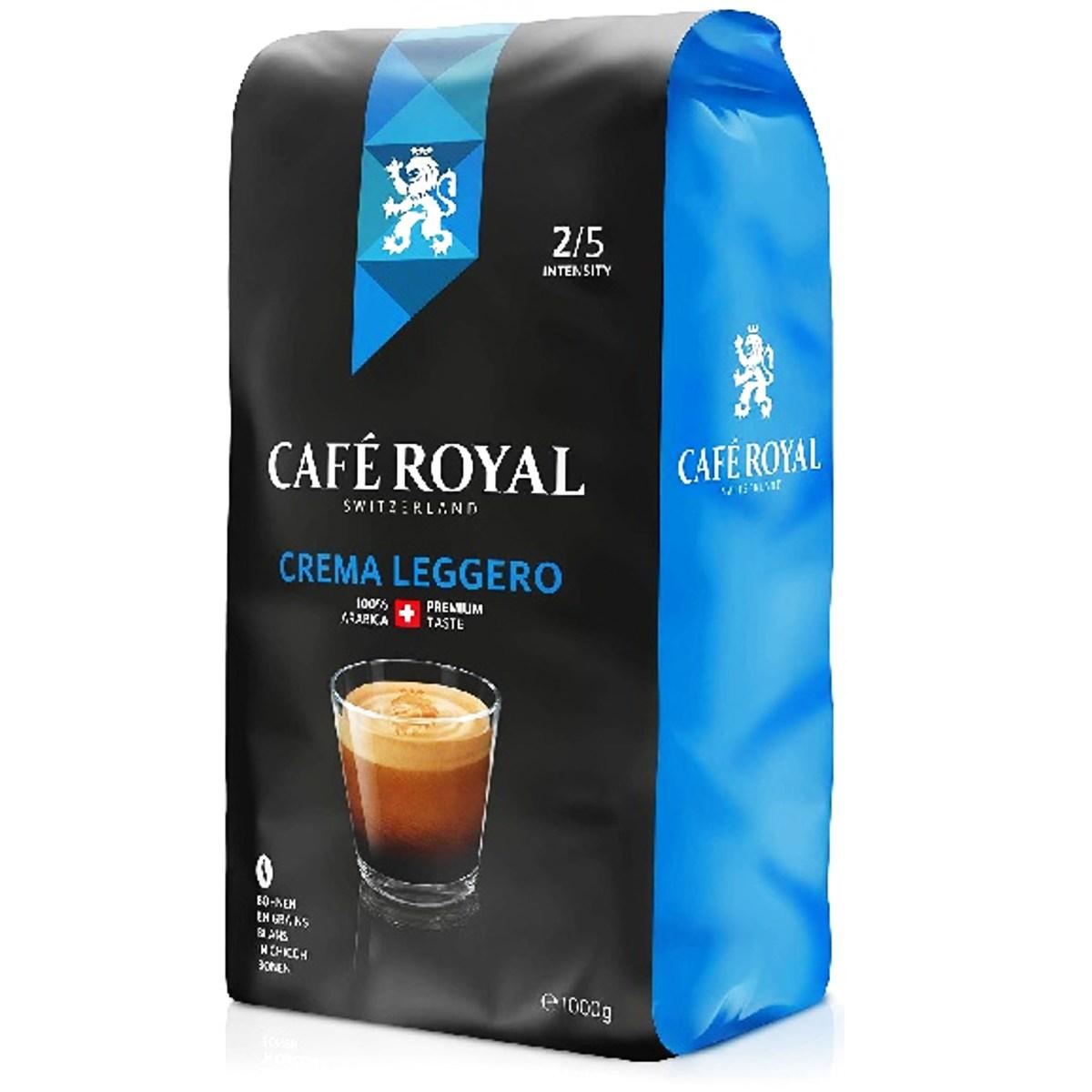 Cafe Royal Crema Leggero cafea la boabe 500gr.